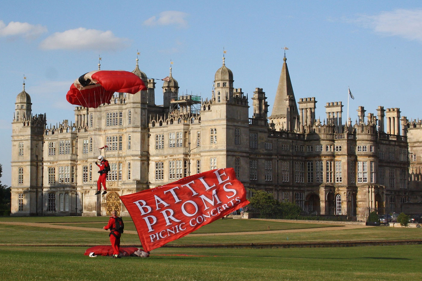 Burghley House, Battle Proms Concert